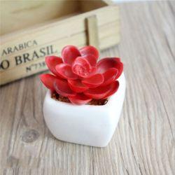 El PVC retardante de fuego bonsái de planta Artificial decoración verde jardín de privacidad
