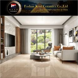 Nuevo diseño de color beige pulido Piso de porcelana esmaltada baldosas de pared