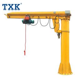 Las Bzd polipasto de cable eléctrico de tipo Cantilever Brazo Jib Crane 3 Ton.