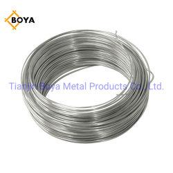 Galvanisierter Draht-Galvanizedgalvanized galvanisierter Stahldraht-Torsion-Gleichheit-Blumenhändler-Draht-kleiner Ring Galv Draht 1.2mm