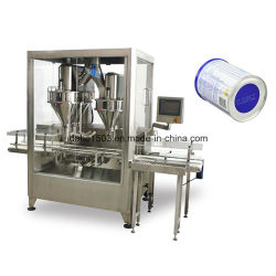 Leveranciers van de Machine van het Flessenvullen van het Poeder van de Thee van de Melk van de hoge snelheid de Automatische Vullende