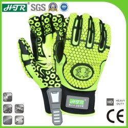 HTR 0523 TPR 耐衝撃性耐スリップ産業機械安全 作業手袋