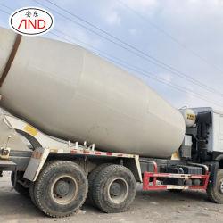 Commerce de gros camion mélangeur HOWO béton de qualité militaire