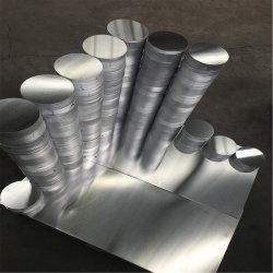 يدير ألومنيوم مستديرة لوحة لأنّ مقلاة (1050, 1060, 1350, 3003)