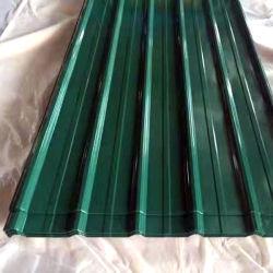 Feuille de toit de tôle de toit en acier ondulé galvanisé Feuille de toit et de la construction de toiture 4x8 feuilles de métal en provenance de Chine