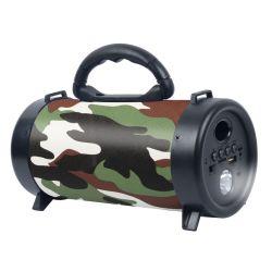 3 인치 조밀한 휴대용 Bluetooth 스피커 무선 Ttrolley 스피커 소형 스피커 Bluetooth 의 착색된 빛, 마이크 입력, Karaoke 특징