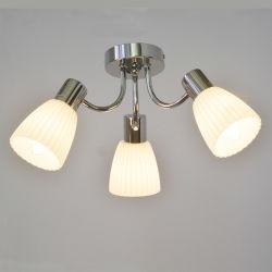 3 Voyants moderne en verre de lampe de plafond de gros lustres en grande quantité des types de vente