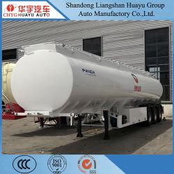 Eixo 3 45cbm 6 Compartimento do Tanque de Óleo em ligas de alumínio semi reboque