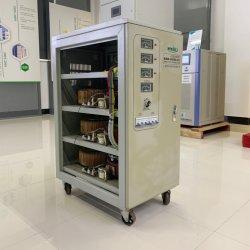 Servomotore trifase AVR da 9 kVA per apparecchiature di illuminazione automatico ad alta precisione Regolatore di tensione CA/stabilizzatore SVC