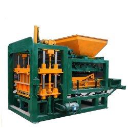 Qt4-18 le béton de ciment hydraulique automatique couleur machine à fabriquer des briques creuses finisseur solide au Kenya