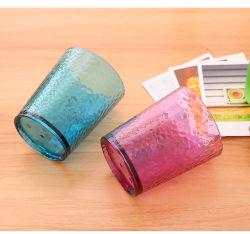 320ml de boa qualidade de cor de rosa/verde do Design de Cristal Água Plástica caneca