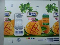 Картонной упаковки для продуктов питания и напитков смешанный характер сока сок из кирпича асептической картонной упаковки для жидкого