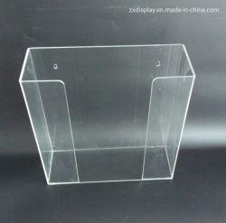 Управление в стену прозрачным акриловым перчатки-водоочиститель держатель .