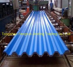 Material de Construção em Aço Galvanizado chapas nervuradas/ Tecto/folha de zinco
