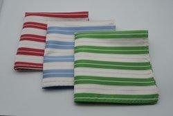 Jacquardwebstuhl-Silk Gewebe-Pocket Quadrat der breiten Streifen-Entwurfs-Männer