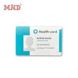 بطاقة تعريف أعضاء PVC لإدارة الأعضاء بنفث الحبر بجودة عالية