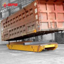 Control remoto móvil de manipulación de material ferroviario de la energía eléctrica de transferencia de 50 toneladas coche