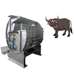 Halal 도살장 가축 회전하는 의식 살해 상자 가축 도살 장비