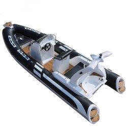 19feet 5.8m 알루미늄 어선 또는 속도 Boat/PVC 배 또는 선외 발동기 배 또는 Hypalon 배 또는 여가 배 또는 속도 배 또는 요트 또는 엄밀한 팽창식 배 또는 늑골 배