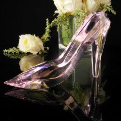 Valentineのギフトの水晶靴(KS25010)のための最も熱い水晶結婚式
