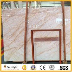 Lastre di marmo beige del ragno dorato naturale della Grecia per il progetto e la decorazione