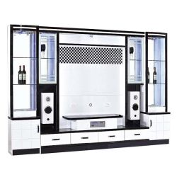 Design moderno Hotsale Gabinete Hall Sala TV móveis armário com alto-falante