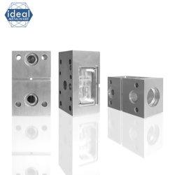 Компоненты гидравлической системы с ЧПУ высокой точности, изготовляемые по заказу, алюминиевые детали Фрезерование фрезерование фрезерованное фрезерование фрезерованное фрезерование