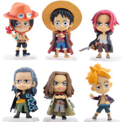Nuevo Anime Janpan una sola pieza la figura de PVC Mini figuras de acción