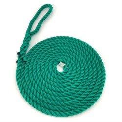 緑色工業用テキスタイルポリプロピレン PP マルチフィルネットロープ