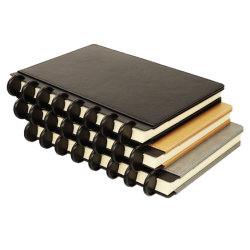 A4/A5/A6 Year Planner PU Leather Cover Agenda Organizer Journal Custom マッシュルームホール DIY ノートブックでカレンダーを印刷する