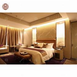 2020 China Foshan quarto moderno mobiliário camas de casal para uso de hotel