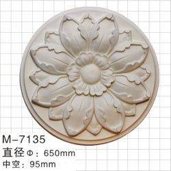 Decorações arquitetônicas poliuretano medalhões de Teto