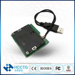 La norma ISO-7816 RoHS Smargo USB Lector de tarjetas chip inteligente de disquete con el libre SDK (MCR3521-M)