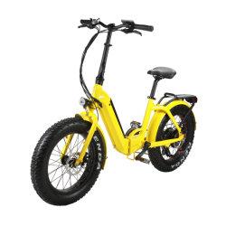 [20ينش] [فولدبل] مدينة درّاجة كهربائيّة إطار العجلة سمينة [350و] مع عنصر ليثيوم قوة بطارية