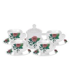 10pcs tetera de vidrio de la copa de cristal&cuenco de cristal Opal Set