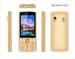 شاشة بحجم 2.8 بوصة مزدوجة مزودة بتقنية GSM Quad Band Wireless FM راديو مخصص للهاتف المحمول