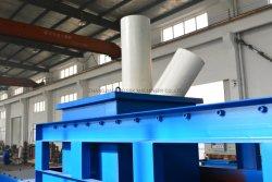 محطم/دافع عمود واحد عالي السرعة للنفايات البلاستيكية HDPE LDPE أنبوب بلاستيكي PVC