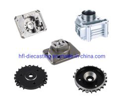 Custom fundição de moldes de alumínio de liga de zinco fundido usinagem CNC Peças auto-peças acessórios para motociclos
