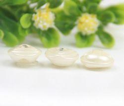 Diseño personalizado de coser los botones de vástago de resina