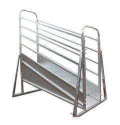 Altura ajustável galvanizada Metal Sheep rampa de carregamento