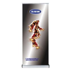 Heiße verkaufenbildschirmanzeigen ziehen Aluminium rollen oben Fahnen-Standplätze hoch