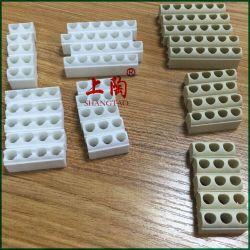 El agujero de 1 a 8 de alta calidad térmica Steatite cerámica Stick de cerámica nudillos resistencia calentadora