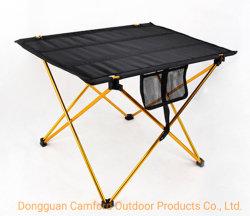 L'ODM/OEM de produire de gros de mobilier de camping en plein air en aluminium portable Camping Table de pique-nique de pliage