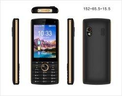 2,8 pulgadas de pantalla Dual SIM de Radio FM inalámbrico de banda GSM teléfono móvil personalizado
