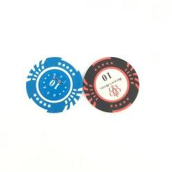 Estrela e 13,5g Clay Poker Chips Casino Personalizado Jogos de mesa