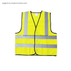 صدرية عاكسة للسلامة المرورية باللون الأصفر البرتقالي