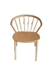 Chaises de salle à manger en bois massif de confortables chaises en bois classique
