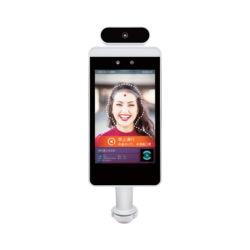 Termómetro de infravermelhos de reconhecimento facial 8.1inch com a câmara de infravermelhos digitais Termómetro sem contato