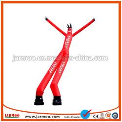 Uomo gonfiabile personalizzato del tubo dell'aria del doppio del piedino danzatore gonfiabile gonfiabile dell'aria