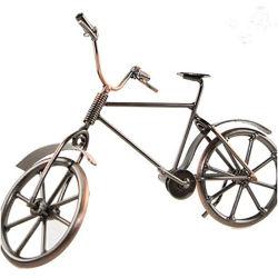 Hierro Vintage creativo Arte en Miniatura Retro del modelo de bicicleta para la decoración de regalos